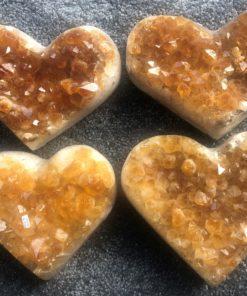 Citrine Hearts