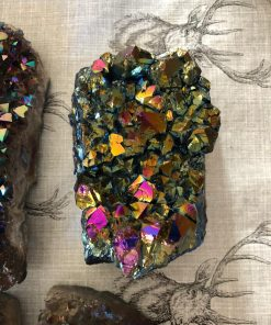 Rainbow Druzy Pieces