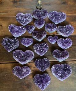 Amethyst Hearts