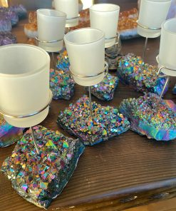 Rainbow Cup Candles