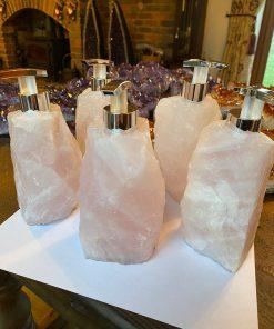 Rose Quartz Soap Dispenser