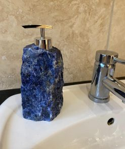 Sodalite Soap Dispenser