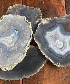 Grey Natural Agate