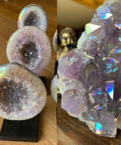 Amethyst Angel Aura Geodes